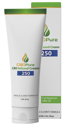 CBDPure Muscle & Joint 250 Infused Cream